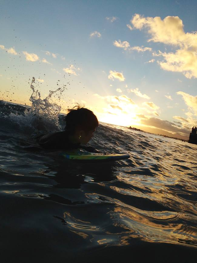 ハワイ ぶぎーボード