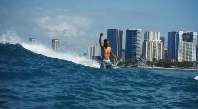 hawaii サーフィン