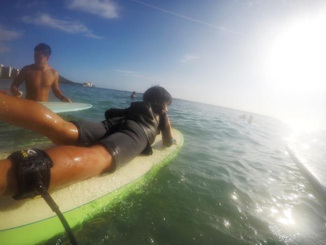 サーフィン ハワイ