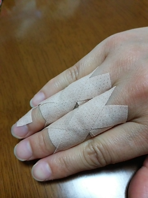 巻き 方 テーピング 腱鞘炎