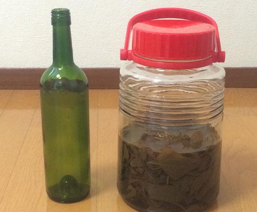 ドクダミ化粧水1