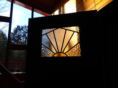 ステンドグラス ドア