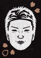 森山直太朗さん切り絵