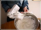 メレンゲの作り方(卵白の泡立て方)動画