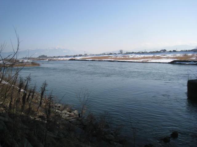 36九頭竜橋上流右岸から.JPG