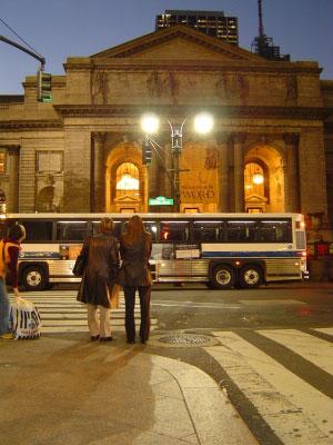 ニューヨーク市図書館。