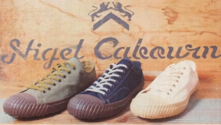 c3f25c0dc4e0 Nigel Cabourn WW2 MILITARY SHOES LOW TOP made by moonstar
