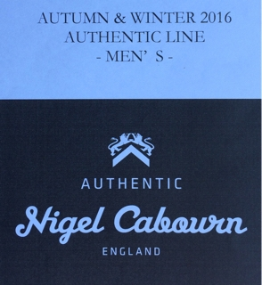 398bb37037db Nigel Cabourn AUTHENTIC LINE