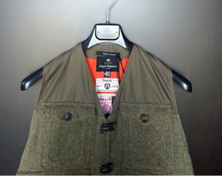 b38bbe436b75 Nigel Cabourn AUTHENTIC LINE
