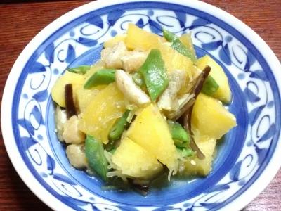 金糸瓜煮物
