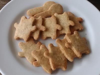 米粉とふすまのクッキー