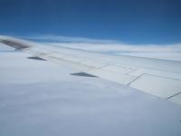 飛行機の中から�