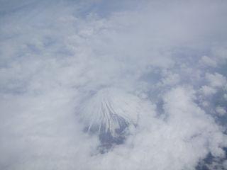 巨大な富士山