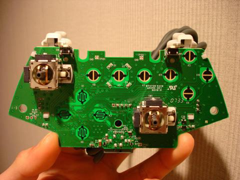 新型有線コントローラ基板(表)