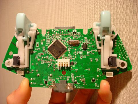 新型無線コントローラ基板(裏)