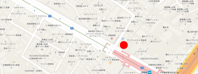 アップルストア表参道地図