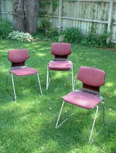 ドイツのモダンな椅子