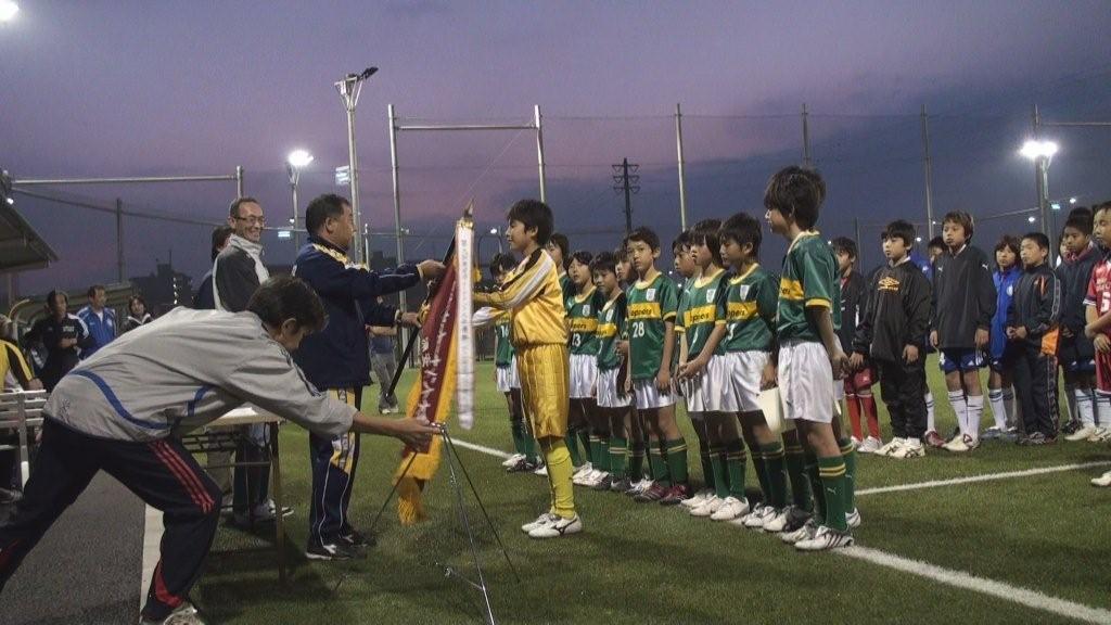 2009年浦安市トーナメント大会6年表彰式