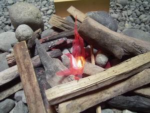 トリンギットの囲炉裏。