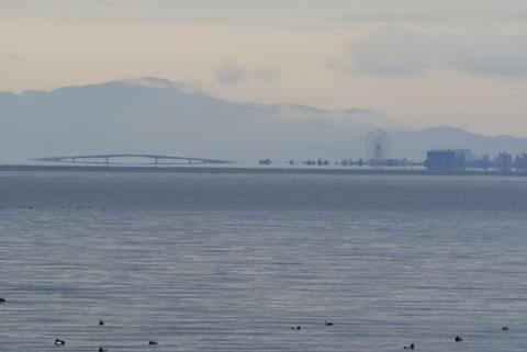 1月4日の琵琶湖大橋