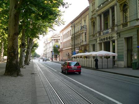ザグレブの街並み