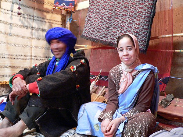 カスバの絨毯屋