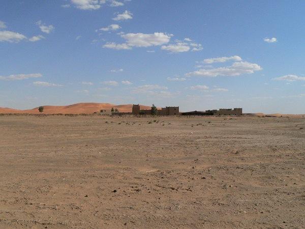 急に砂丘が出現
