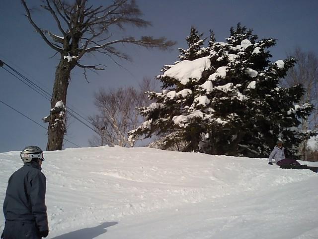 スノーボード in 志賀高原