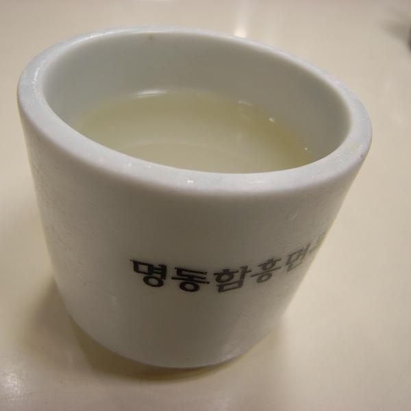 牛骨のスープ