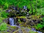 オンネトー 湯の滝