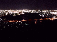 嵐山展望台からの夜景