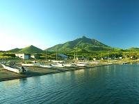利尻富士町南浜漁港