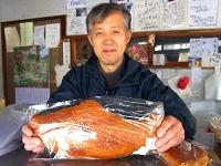 ジャンボみそパン「サケの照やき」