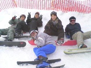 雪組メンバー
