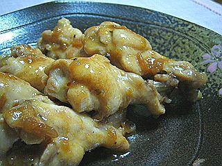 鶏手羽元の梅シソ煮