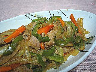 豚肉の野菜炒め