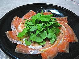 サーモンカルパッチョ