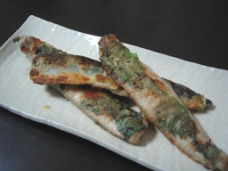秋刀魚のパリパリ焼