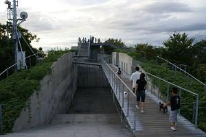 亀老山展望台 全景