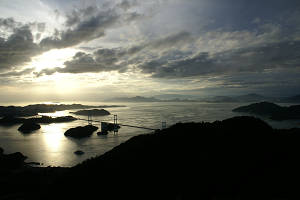 亀老山展望台 View
