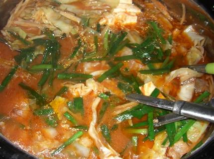 モツ鍋キムチ味