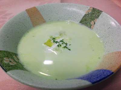 キャベツのクリームスープ