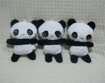 パンダ3兄弟♪