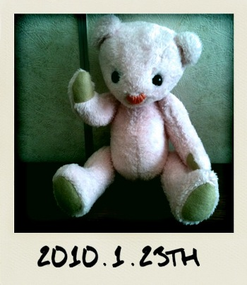 1/23 Birth Pink bear 2