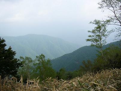 しらびそ峠からの眺め