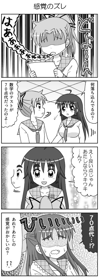 4コマガールズおきゅぱいど! テスト