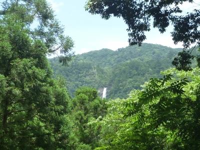 十一文関からの滝