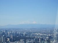 スカイツリー 富士山