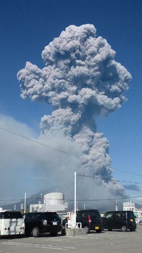 桜島噴煙1