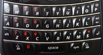 BBBのキーボード